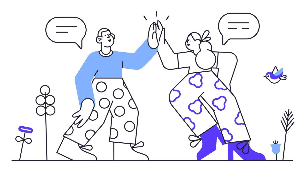 el şaplatan adam ve kadın